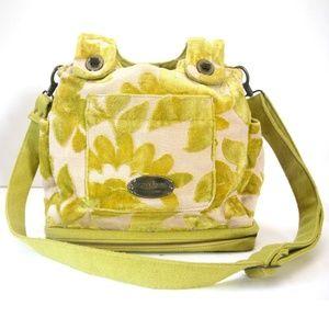 CAKE by PETUNIA Yellow Designer Diaper Bag
